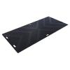 "24"" x 48"" Black Chevron Surface Ground Protection LibertyMat®"