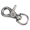 "1/2"" x 2-3/8"" Nickel Plated Swivel Trigger"