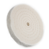 "6"" 55 Ply Spiral Sewn Buffing Wheel"