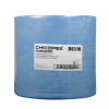 "13.12"" x 12.6"" Blue Head-Duty Wipers - 500 Wipes/Jumbo Pack"