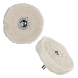Spiral Sewn Mounted Buffing Wheels