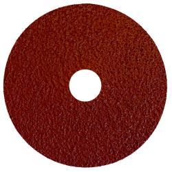 "4-1/2"" Dia. x 7/8"" Arbor Hole x 36 Grit Standard Abrasives™ Aluminum Oxide Resin Fiber Disc"