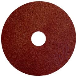 "4-1/2"" Dia. x 7/8"" Arbor Hole x 60 Grit Standard Abrasives™ Aluminum Oxide Resin Fiber Disc"