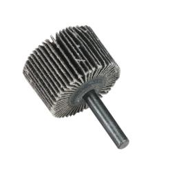 "1"" Dia. x 1"" W x 1/4"" Shank 60 Grit Standard Abrasives™ Aluminum Oxide Flap Wheel"