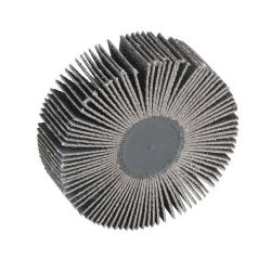 "3"" Dia. x 1"" W x 1/4"" Shank 80 Grit Standard Abrasives™ Aluminum Oxide Flap Wheel"