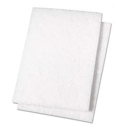 "6"" x 9"" White Non-Abrasive Polishing Pads"