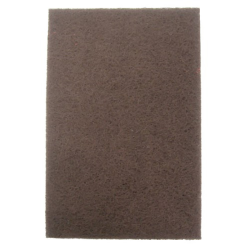 "6"" x 9"" Maroon Economy General Purpose Abrasive Pads"