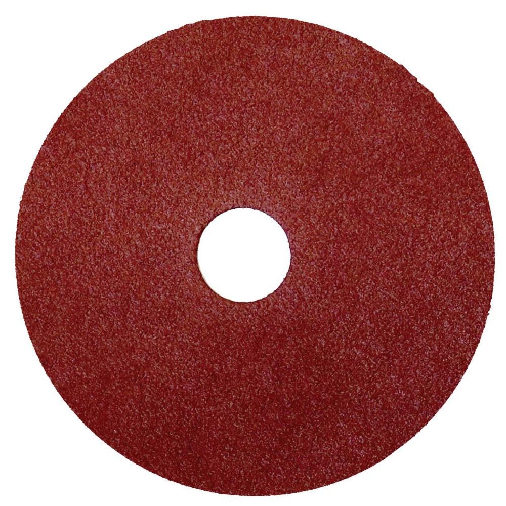"4-1/2"" Dia. x 7/8"" Arbor Hole x 120 Grit Camel CGW Aluminum Oxide Resin Fiber Disc"