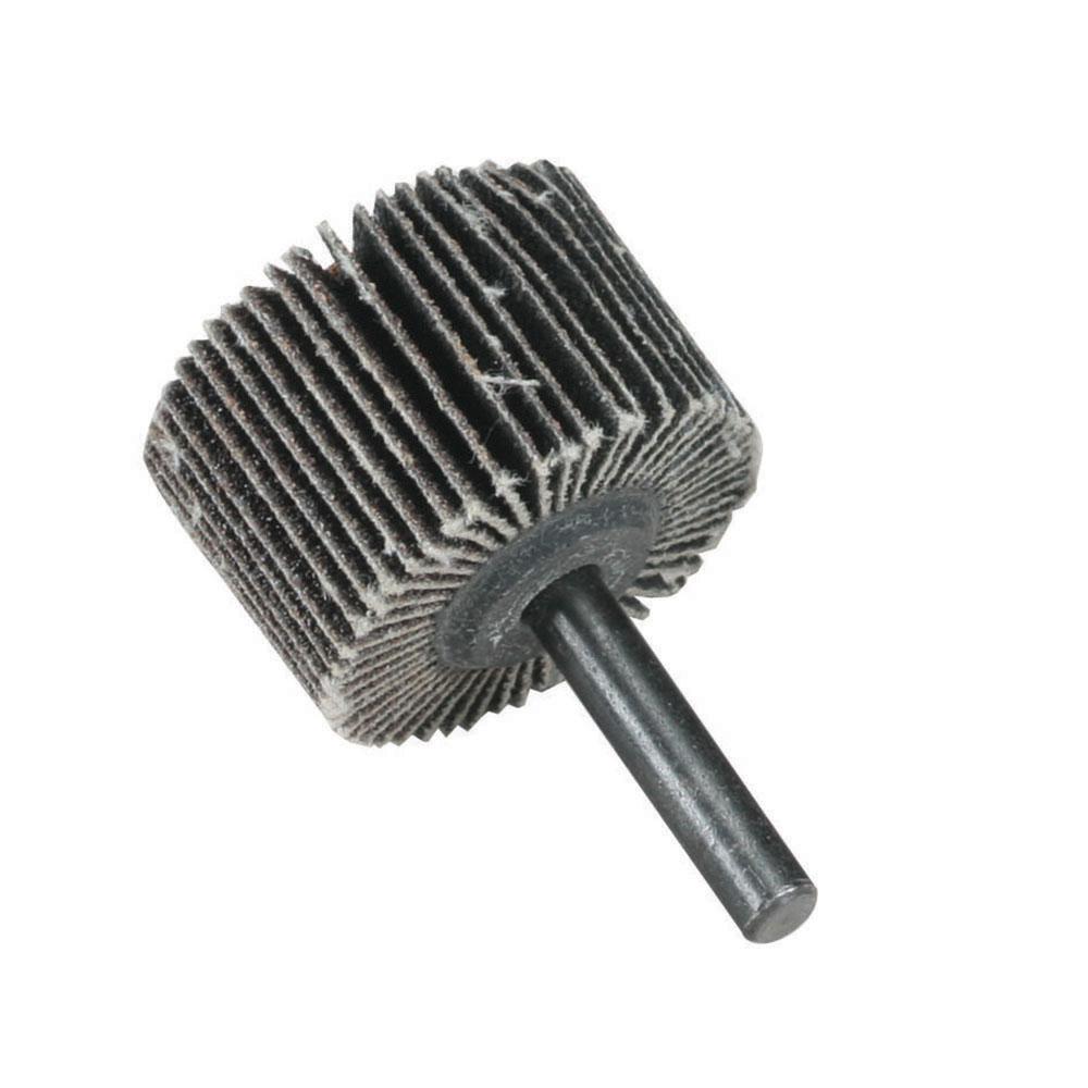 "1"" Dia. x 1"" W x 1/4"" Shank 80 Grit Standard Abrasives™ Aluminum Oxide Flap Wheel"