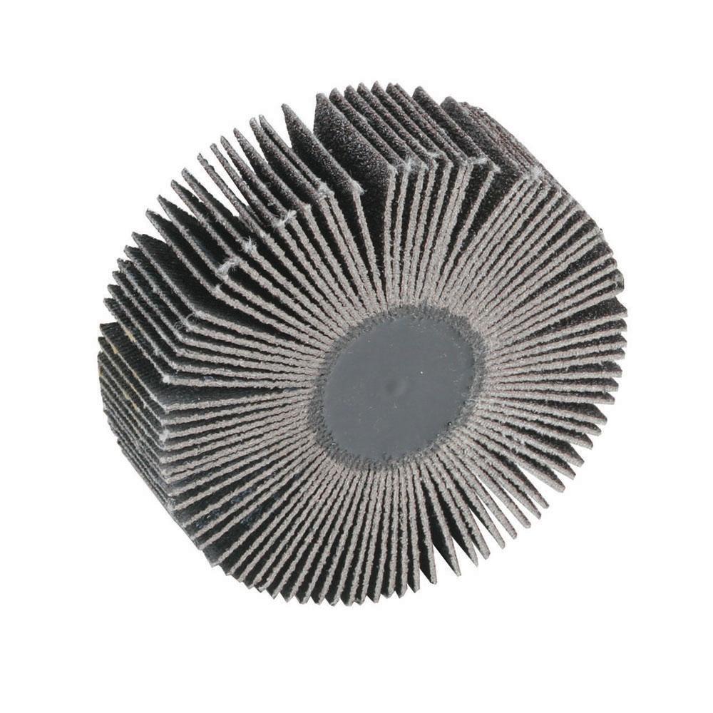 "2"" Dia. x 1"" W x 1/4"" Shank 120 Grit Standard Abrasives™ Aluminum Oxide Flap Wheel"