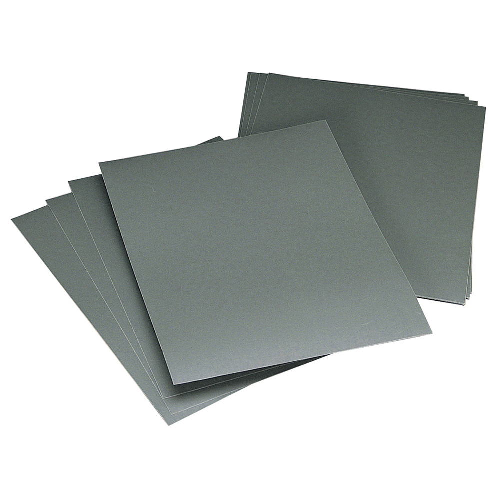 "9"" W x 11"" L x 600 Grit Silicon Carbide Wet/Dry Sheets"