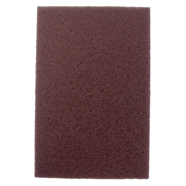 "6"" x 9"" Maroon Very Fine Abrasive Pads"