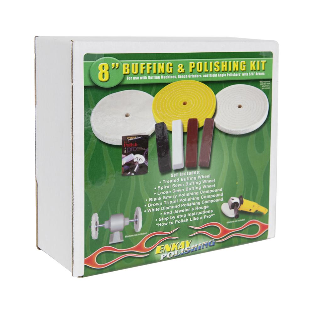 "8"" Buffing & Polishing Kit"