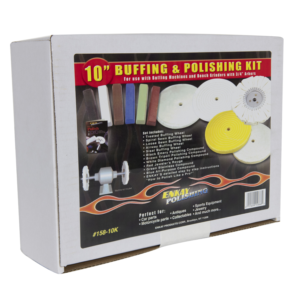 "10"" Buffing & Polishing Kit"
