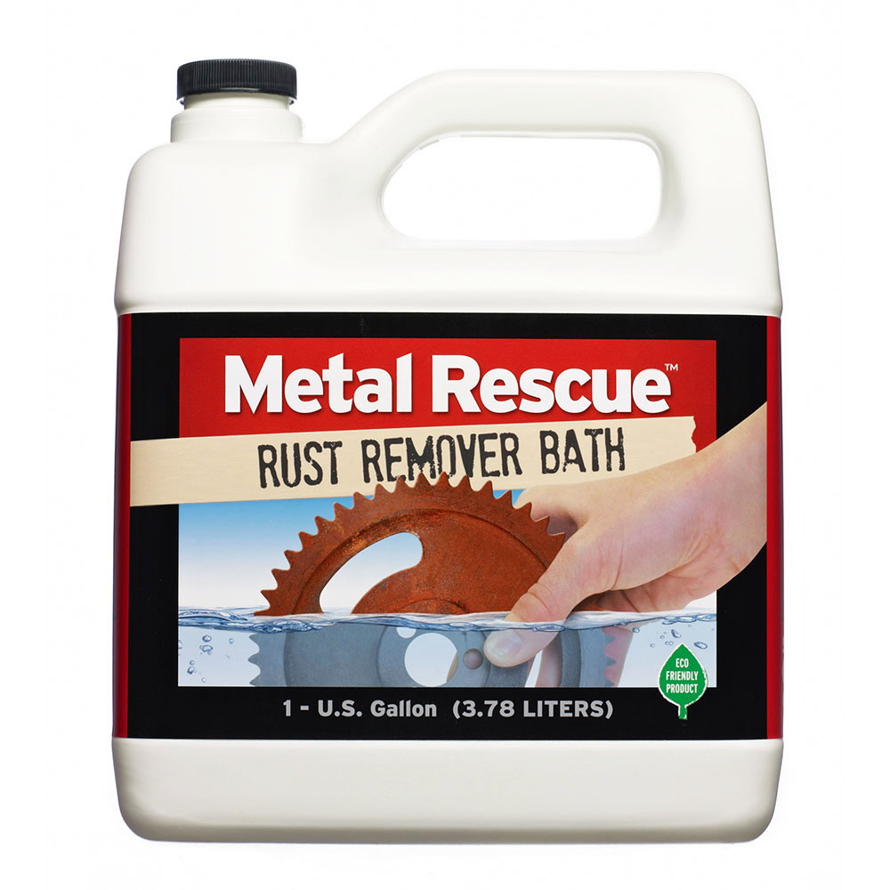 1 Gallon Metal Rescue® Rust Remover Bath