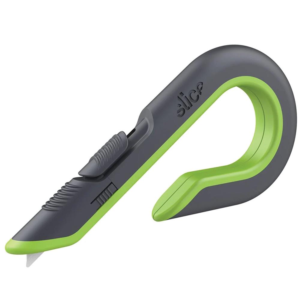 Gray & Green Auto-Retractable Slice® Box Cutter
