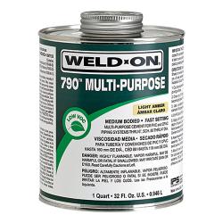 Pint Light Amber IPS® Weld-On® 790™ Multi-Purpose Cement