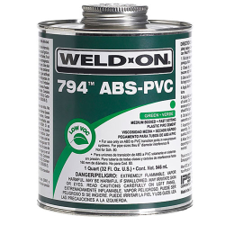 Quart Green IPS® Weld-On® 794™ ABS–PVC Transition Cement