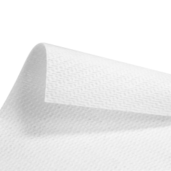 "13.5"" x 15"" White Shop Towel - 300/Flat Pack"