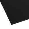 """.120"""" x 12"""" x 12"""" Black Expanded PVC Sheet"""