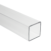 "1/2"" Clear Square Polycarbonate Tube"