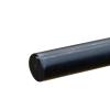 """1/2"""" Black PVC Rod"""