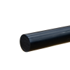 """7/8"""" Black PVC Rod"""