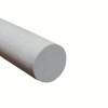 "1/4"" Fibergrate Dynaform® White Round Rod"