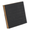 "7/8"" x 4"" x 4"" Rubber & Cork Anti-Vibration Pad"