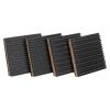 "7/8"" x 4"" x 4"" Rubber & Cork Anti-Vibration Pads"