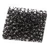 "0.5"" x 38"" x 46"" Black 10 PPI Reticulated Polyurethane Foam Sheet"