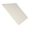 "1/4"" x 12"" x 12"" SAE F5 Pressed Felt Square- Off White"