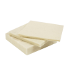 "1/8"" x 12"" x 12"" SAE F1 Pressed Felt Square- Off White"