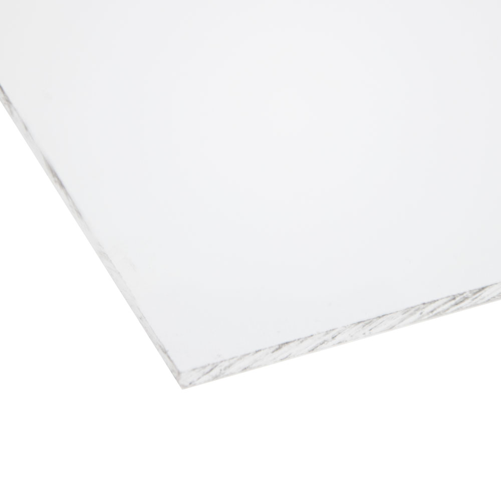 "0.125"" x 24"" x 24"" KYDEX® T White Thermoplastic Sheet"