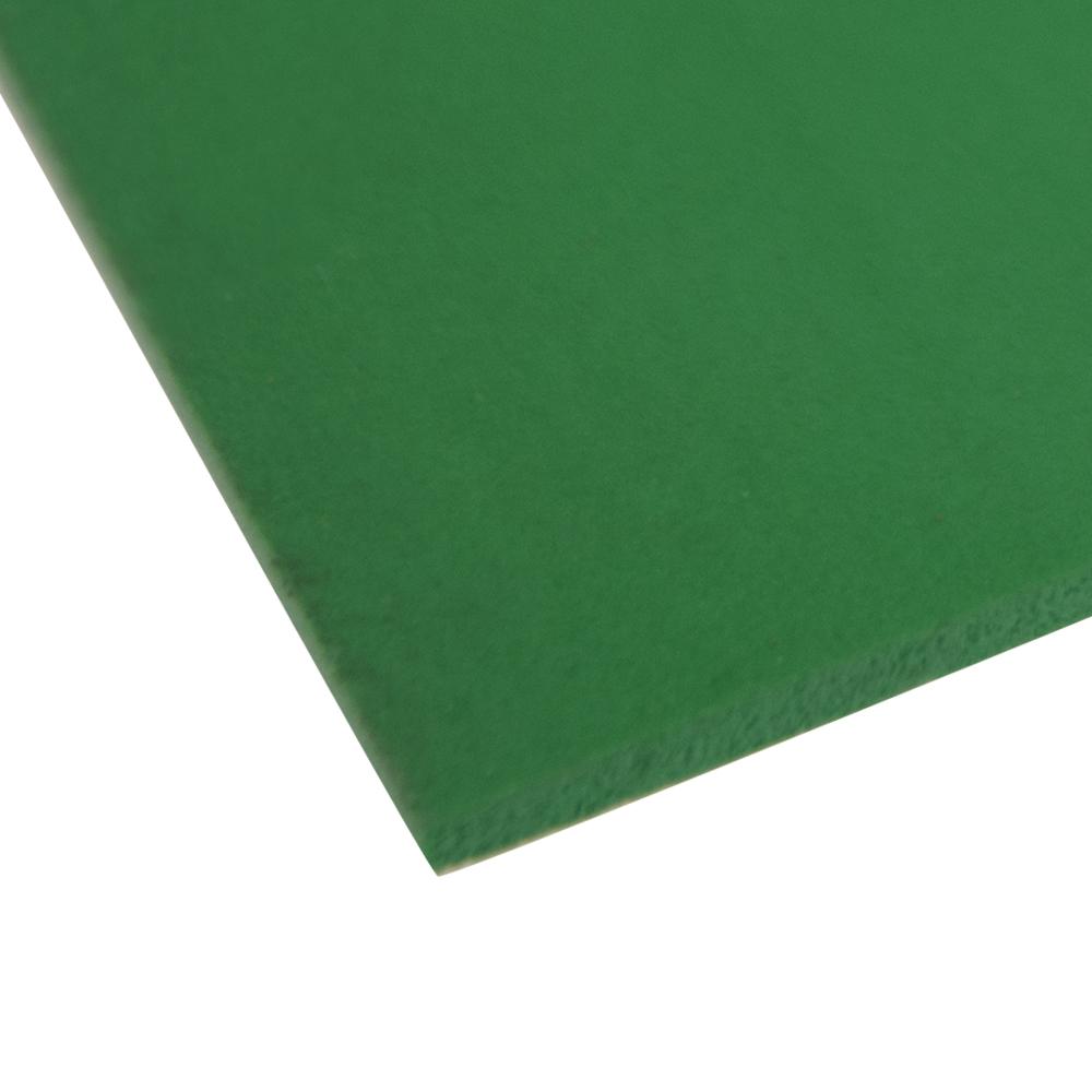 """.240"""" x 48"""" x 48"""" Green Expanded PVC Sheet"""
