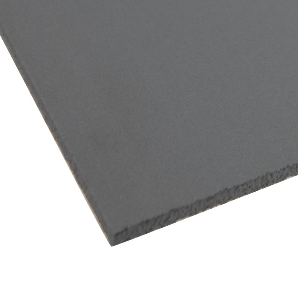 """.240"""" x 48"""" x 96"""" Gray Expanded PVC Sheet"""