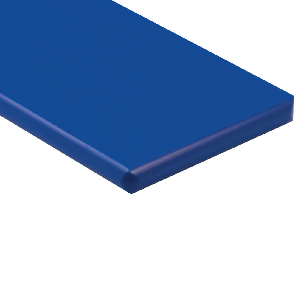 "1/2"" x 24"" x 48"" Blue ColorBoard® HDPE Sheet"