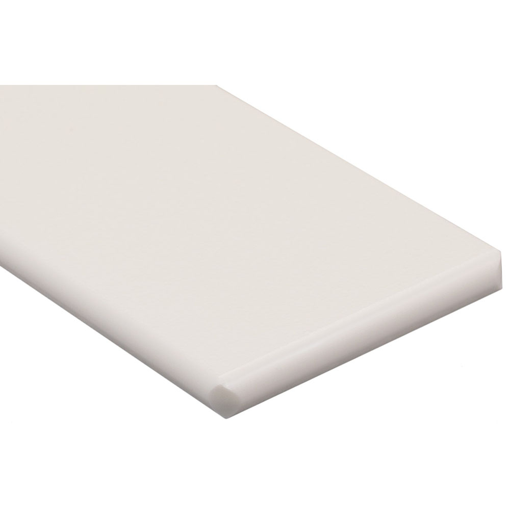"3/4"" x 48"" x 96"" White King MediGrade® Antimicrobial Sheet"