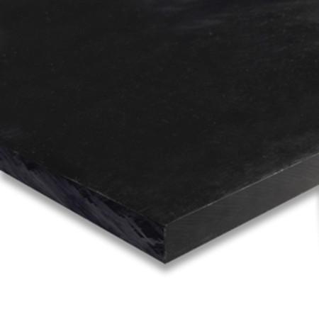 "1/8"" x 12"" x 48"" Black HDPE Sheet"