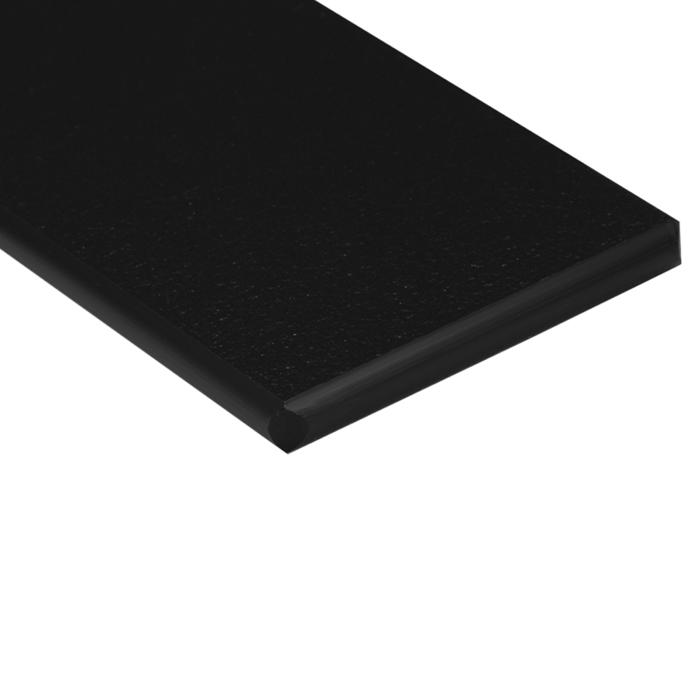 "1/4"" x 24"" x 48"" Black King StarBoard® ST HDPE Sheet"
