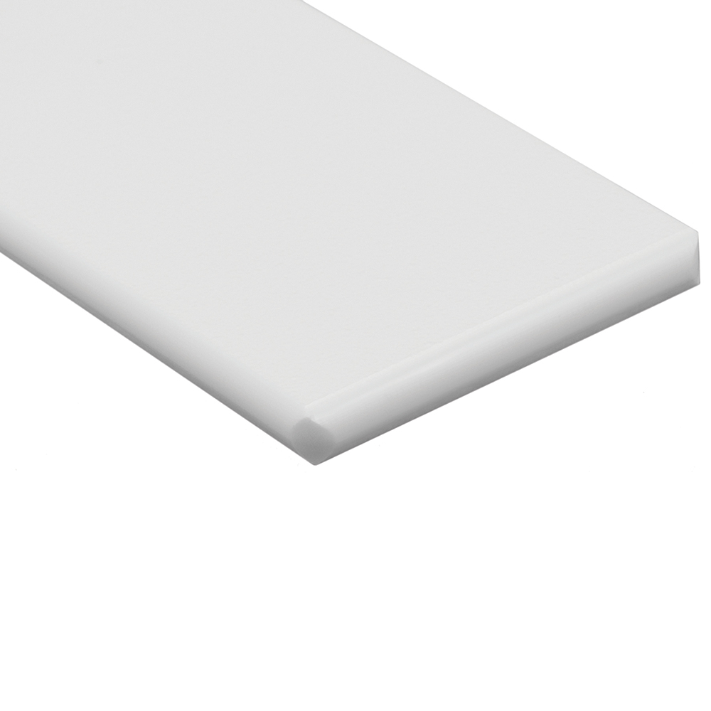 "3/4"" x 24"" x 48"" White King StarBoard® ST HDPE Sheet"