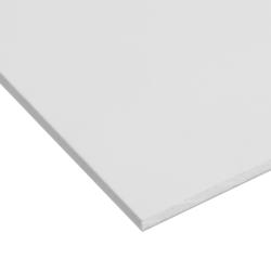 """.040"""" x 24"""" x 48"""" White Expanded PVC Sheet"""