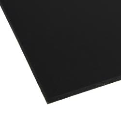 """0.120"""" x 12"""" x 12"""" Black Expanded PVC Sheet"""