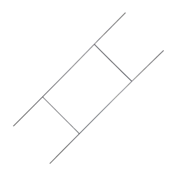 """12"""" x 33"""" Wire Sign Stake"""