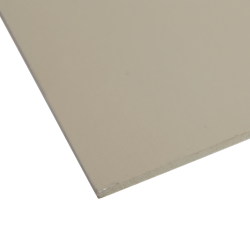 "0.120"" x 12"" x 12"" Beige Expanded PVC Sheet"