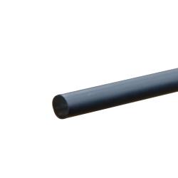 """1/4"""" Black PVC Rod"""