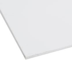 """1/8"""" x 12"""" x 12"""" White PVC Sheet"""