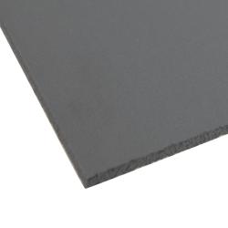 """.120"""" x 12"""" x 12"""" Gray Expanded PVC Sheet"""