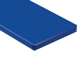 "1/4"" x 48"" x 48"" Blue ColorBoard® HDPE Sheet"
