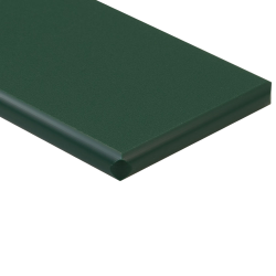 "1/2"" x 24"" x 24"" Green ColorBoard® HDPE Sheet"